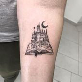 47 Cool and Magical Harry Potter Inspired Tattoos   – Tats