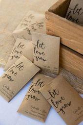 Gastgeschenke Hochzeit – 90 tolle Ideen für Gastgeschenke bei der Hochzeit