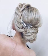 Amazing updo with the wow factor. Find just the right wedding hair