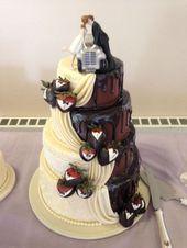 Der Schokoladennieselregen wurde von Grund auf mit 1 Teil Milchschokoladenstückchen und …   – cake decorating