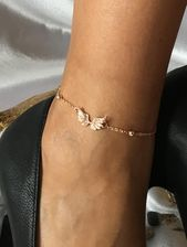 Anklets, foot jewelry, bronze angel wings, jewelry, accessories for women …  – Schmuck