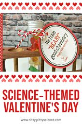 Science-themed valentine's day | Nitty Gritty <a href=