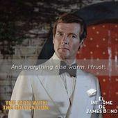 """En 1974, """"The Man With The Golden Gun"""", Bond …   – jamesbond"""