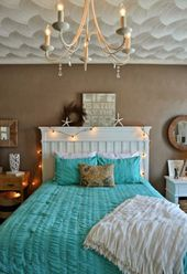5 The inspiration Of Gorgeous Ocean Blues Bedroom Decor For Nature   – Living Room Design Ideas