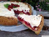 Schneller Johannisbeerkuchen mit frischen Früchten – Aus meinem Kuchen- und Kuchenblog   – 25 leckere Bäckerei