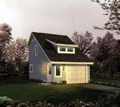 Hütte Landhaus Saltbox Traditionelle Ferien Garage Plan 95833 …   – shed plans