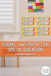 Federal Legal guidelines Defending Particular Training – The Autism Helper