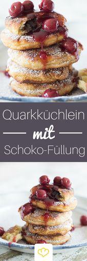 Quark pancake with chocolate filling   – ***Ich*Liebe*Foodblogs***