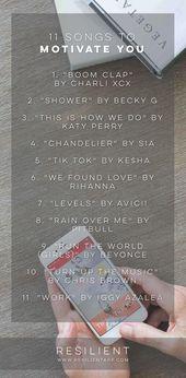 11 Songs, die Sie motivieren, den Tag zu beginnen – New Concepts