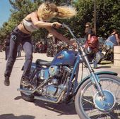Mädchen und ihre Fahrten: Fotosammlung von Frauen auf Motorrädern   – Women Riders