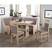 Küchen Sitzecke mit Eckbank Grau und Eiche Sonoma (4 Teile) BrandolfBrandolf   – Products