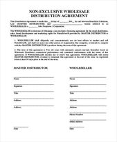 Free Wholesale Contract Template Elegant 10 Distribution Agreement Form Samples Free Sample Contract Template Custom Snapchat Geofilters Web Design Contract