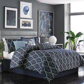 7 Piece Axel Reversible Comforter Set
