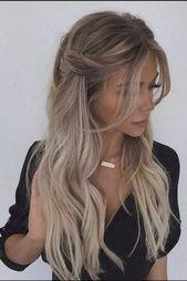 √59 Coiffures tressées à la mode pour que les cheveux longs aient fière allure #braidedhairstyles #longhairstyles #hairstylesideas - Nothingideas.com