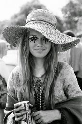34+ New Ideas For Fashion 60s Hippie Woodstock Hair