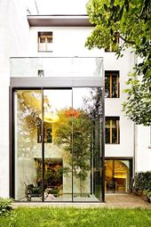 Architektenhäuser: Umbau zu einem modernen Stadthaus   – architecture_i_like