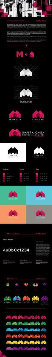 SANTA LISBOA MERCY HOUSE de Zé Gouveia, a través de Behance   – #logos #dynamic #creative #inspiration