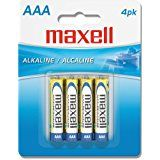 Maxell 723841 Aaa Battery 4 Pk Maxell Alkaline Battery Aaa