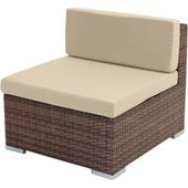 Sora Poly Rattan Set, Gartenmöbel, Lounge Set, Aluminium & # 39; braun…   – Products
