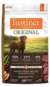 Instinct Original With Real Duck Dry Dog Food Best Dry Dog Food Dog Food Recipes Dry Dog Food