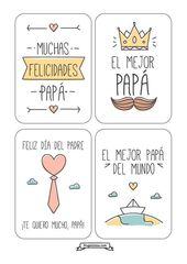 Tarjetas Dia del padre – imprimibles gratis – frugalisima – #DEL #DIA #frugalisi…