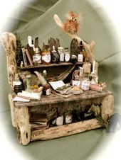 Dolls House Miniatures – A Hooting Experience Table