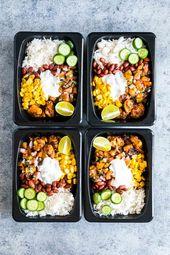 5 einfache Mittagsgerichte zum Mitnehmen   – Rezept-Inspirationen