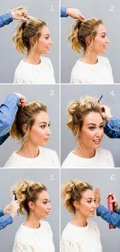 Super Haar DIY Styles Tutorials Tipps und Tricks 32+ Ideen –  – #Kurzhaarfrisuren