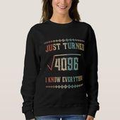 Birthday Shirt. Math Costume For 64 Years Old. Sweatshirt   Zazzle.com