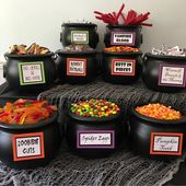 Tips for setting up a candy bar