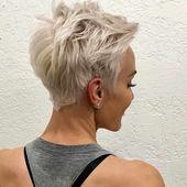 Über 40 neue Pixie Haircut-Ideen von 2018 bis 2019