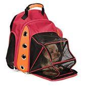 Varios Deluxe Dog Carrier Mesh Mochila de viaje Hombros dobles Stra   – Schnallen