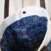 """Tuto Couture DIY : Réaliser un sac """"WoW"""" en jean récupéré pour débutant"""
