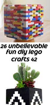 26 unbelievable fun diy lego crafts 42