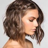 15 Sweet braids For short hair you will love