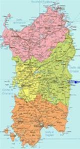 Cartina Dettagliata Sardegna.Cartina Politica Della Sardegna Risultati Yahoo Italia