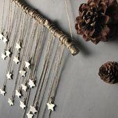 decoration on the wall,star,christmas decoration,christmas,hand made, ward