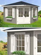 5 Eck Gartenhaus Monica Royal Iso Gartenhaus 5 Eck Gartenhaus Gartenhaus Farbe