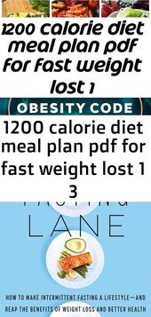 #Calorie #diet #Fast #lost #Meal #PDF