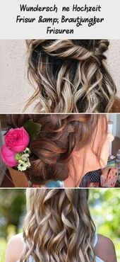 Gorgeous wedding hairstyle & bridesmaid hairstyles – DE