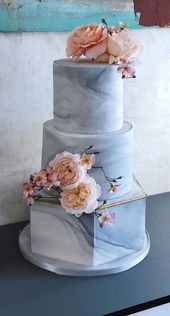 The Prettiest & Unique Wedding Cakes We've Ever Seen   – Braut Hochzeitstorten