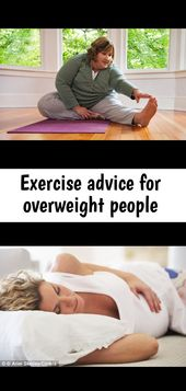 Exercise advice for overweight people
