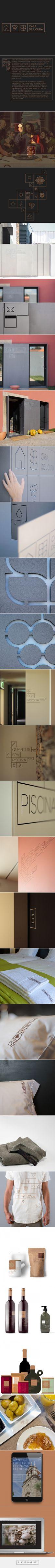Casa de L Cura on Behance – created via pinthemall.net  – design: corporate + branding