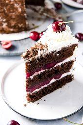 Authentic Black Forest Cake – Kuchen/Torten