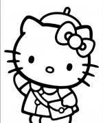 ภาพการ ต นระบายส ค ตต Google Search Hello Kitty Drawing Hello Kitty Colouring Pages Hello Kitty Printables