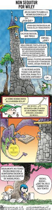 Ein Cartoonist hat das typische sexistische Märchen mit einem lustigen Cartoon zerbrochen