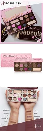 TOO FACED CHOCOLATE BON BONS EYESHADOW PALETTE Too…