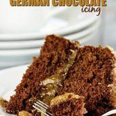 Zuckerfreie deutsche Schokoladenglasur