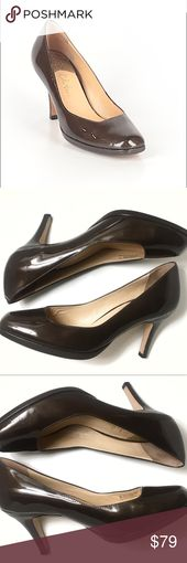 Cole Haan Brown Patent Leather Heels Nike Air 7 Photos are apart of the descript…
