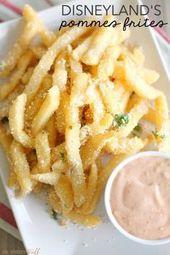 Nachahmer Disneyland Pommes Frites mit Cajun Remoulade   Nachahmer Disney Rezepte …